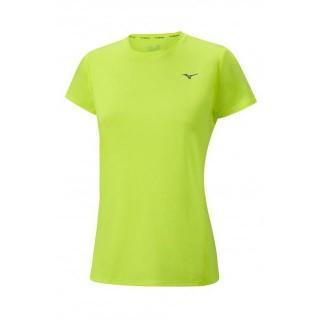 Mizuno T-shirt Impulse Core Jaune Running Femme