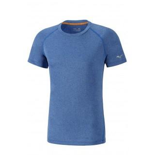 Mizuno T-shirt Inspire Bleu Running/Training Homme