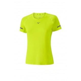 Mizuno T-shirt Premium Aero Jaune Running Femme