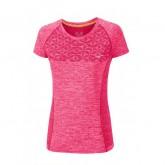 Mizuno T-shirt Tubular Helix Rose Running/Training Femme
