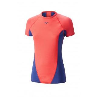 Mizuno T-shirt Virtual Body G1  Bleu / Rose Outdoor