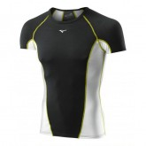 Mizuno T-shirt Virtual Body G1  Noir / Vert  Outdoor