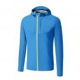 Mizuno Veste Waterproof 20K Bleu Running  Homme