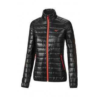 Mizuno Veste matelassée Breath Thermo Noir / Rose Outdoor