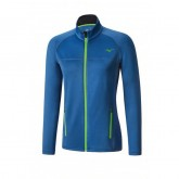 Mizuno Veste polaire Breath Thermo Bleu Outdoor
