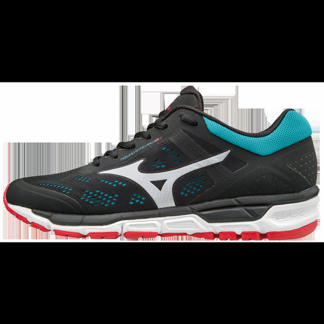 Chaussures Running Mizuno Mizuno Synchro Mx 2 Bleu Noir