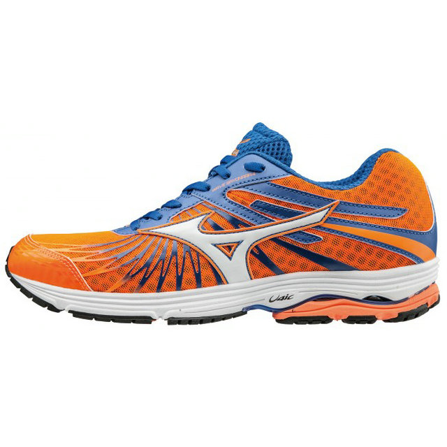 Chaussures Running Mizuno Wave Sayonara 4 Bleu / Orange Homme