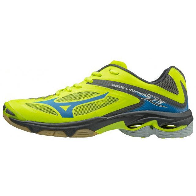 Chaussures Lightning Mizuno Volley Bleu Wave Jaune Z3 6y7mIYfbgv