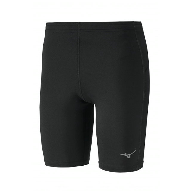 Mizuno Cuissard Core Mid Tights  Noir Running/Training Homme