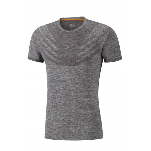 Mizuno T-shirt Tubular Helix Gris Running/Training Homme
