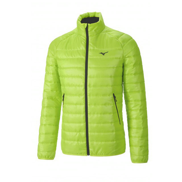 Mizuno Veste matelassée Breath Thermo Vert  Outdoor