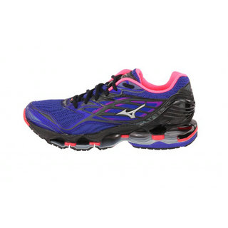 Nova Noir Mizuno Chaussures Wave Violet Rose Running 6 Prophecy fApXS