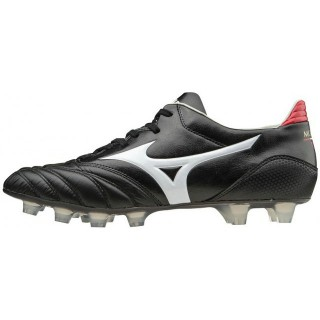 Chaussures Foot Mizuno Morelia Neo KL MD Blanc / Noir / Rouge Homme