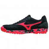 Chaussures Foot Mizuno Sala classic 2 as Noir / Orange Homme