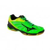 Chaussures Handball Mizuno Wave Eruption Jaune / Noir / Vert  Homme