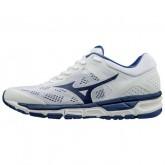 Chaussures Running Mizuno Mizuno synchro MX 2 Blanc / Bleu Homme