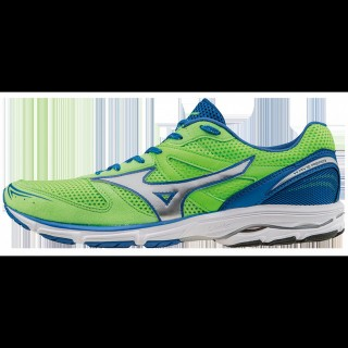 Chaussures Running Mizuno Wave Aero 15 Bleu / Vert  Homme