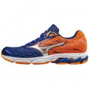 Chaussures Running Mizuno Wave Catalyst 2 Bleu / Orange Homme