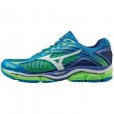 Chaussures Running Mizuno Wave Enigma 6 Blanc / Bleu / Vert  Homme