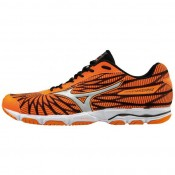 Chaussures Running Mizuno Wave Hitogami 4 Noir / Orange Homme