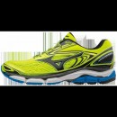 Chaussures Running Mizuno Wave Inspire 13 Bleu / Jaune / Noir Homme