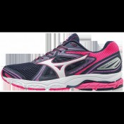 Chaussures Running Mizuno Wave Prodigy Blanc / Rose / Violet Femme