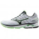 Chaussures Running Mizuno Wave Rider 20 ⋅ Blanc & Vert Homme