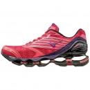 Chaussures Running Mizuno Wave prophecy 5 Noir / Rouge Femme