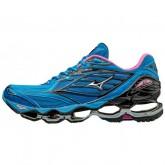 Chaussures Running Mizuno Wave prophecy 6 Bleu / Noir / Rose Femme