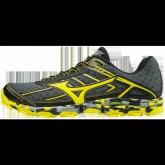 Chaussures Trail Mizuno Wave Hayate 3 Gris / Jaune / Noir Homme
