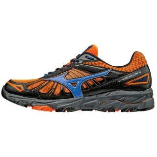 Chaussures Trail Mizuno Wave Mujin 3  Bleu / Noir / Orange Homme