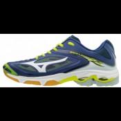 Chaussures Volley Mizuno Wave Lightning Z3  Blanc / Bleu / Jaune Homme