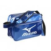 Mizuno Sac vintage small Logo Blanc / Bleu Judo