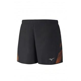 Mizuno Short Premium Aero Noir / Orange Running  Homme