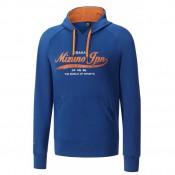Mizuno Sweat Heritage Bleu Outdoor Homme