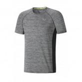 Mizuno T-shirt Alpha Gris Running  Homme