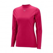 Mizuno T-shirt  Breath thermo col rond Rose Outdoor