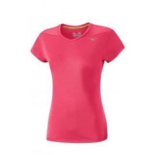 Mizuno T-shirt Core Rose Running/Training Femme