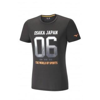 Mizuno T-shirt Heritage 06 Noir Running/Training Homme