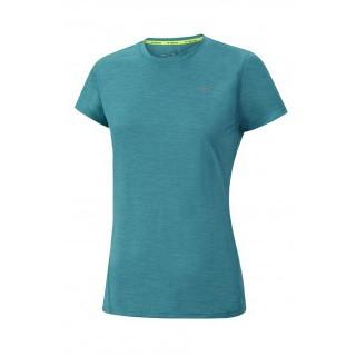 Mizuno T-shirt Impulse Core Bleu Running Femme