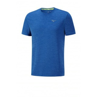 Mizuno T-shirt Impulse Core Bleu Running  Homme