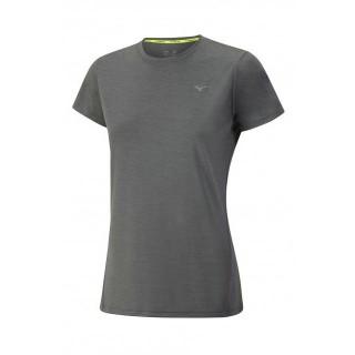 Mizuno T-shirt Impulse Core Gris Running Femme