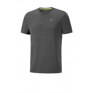 Mizuno T-shirt Impulse Core Gris Running  Homme
