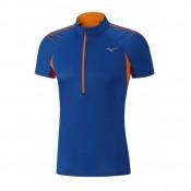 Mizuno T-shirt Mujin HZ Bleu / Orange Tennis Tennis Homme