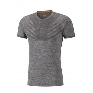 Mizuno T-shirt Tubular Helix Gris Running/Training Homme