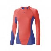 Mizuno T-shirt Virtual Body G1 col rond  Bleu / Rose Outdoor