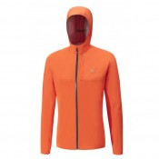 Mizuno Veste Waterproof 20k Bleu / Orange Trail Trail Homme