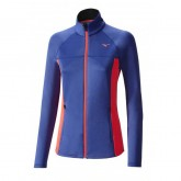Mizuno Veste polaire Breath Thermo Bleu / Rose Outdoor